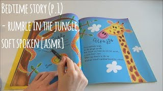 [ASMR] Bedtime Story Reading - Rumble in the Jungle (Soft Spoken, Tracing, Trigger Words & more!) screenshot 2