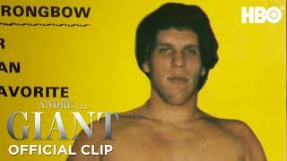'How Andre Got His Name' Official Clip | Andre The Giant | HBO thumbnail