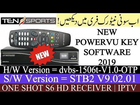 ONE SHOT S6 & 1506T STB2 HD RECEIVER AUTO ROLL, IPTV POWERVU