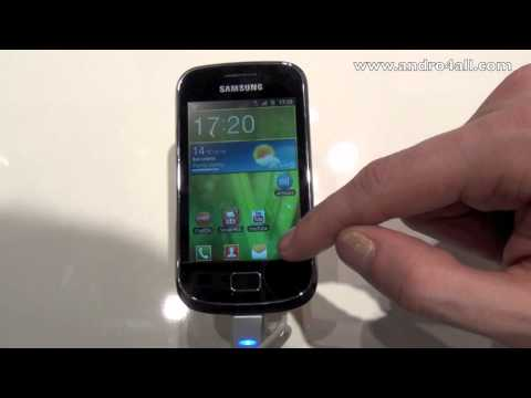 Samsung Galaxy Mini 2 MWC 2012 [HD]