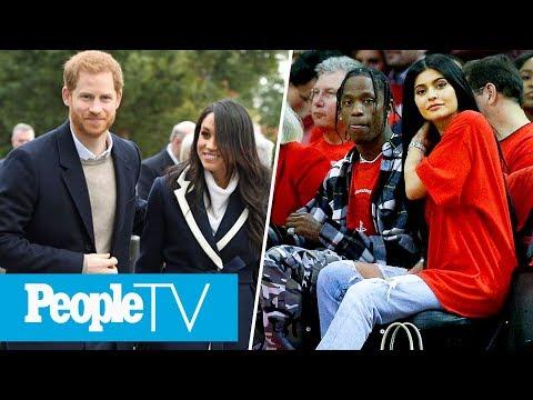 Kylie Jenner Sports New Bling On Left Ring Finger, Meghan Markle & Prince Harry Step Out   PeopleTV