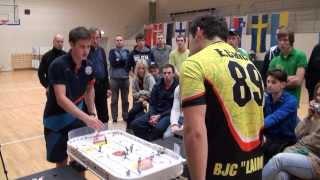 Настольный хоккей. Выпуск 85. Table hockey-RIGA-2012-final-BOR-CAI-6-comment-TITOV