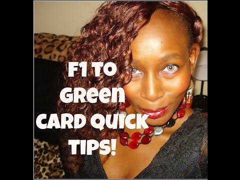 Video 2 - From  F1 Visa to Green Card: Tips for Success