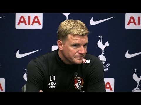 Tottenham 1-0 Bournemouth - Eddie Howe Full Post Match Press Conference - Premier League
