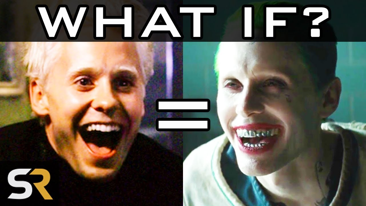WHAT IF Jared Leto's Joker Is Actually Angel Face From Fight Club?