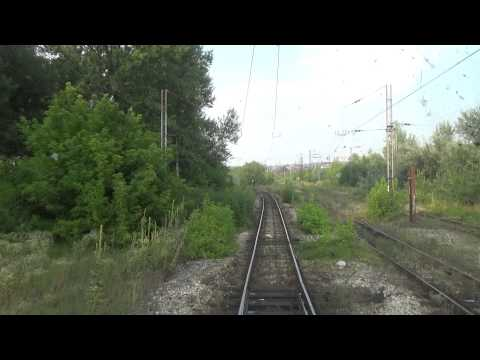 Train Driver's view: railroad in Serbia from Belgrade Ranzirna to Ostruznica 1/3 - SERBIAN RAILWAYS