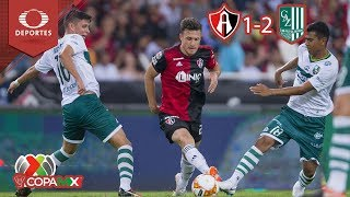 Resumen Atlas 1 - 2 Zacatepec   Copa MX - A18 - J1   Televisa Deportes
