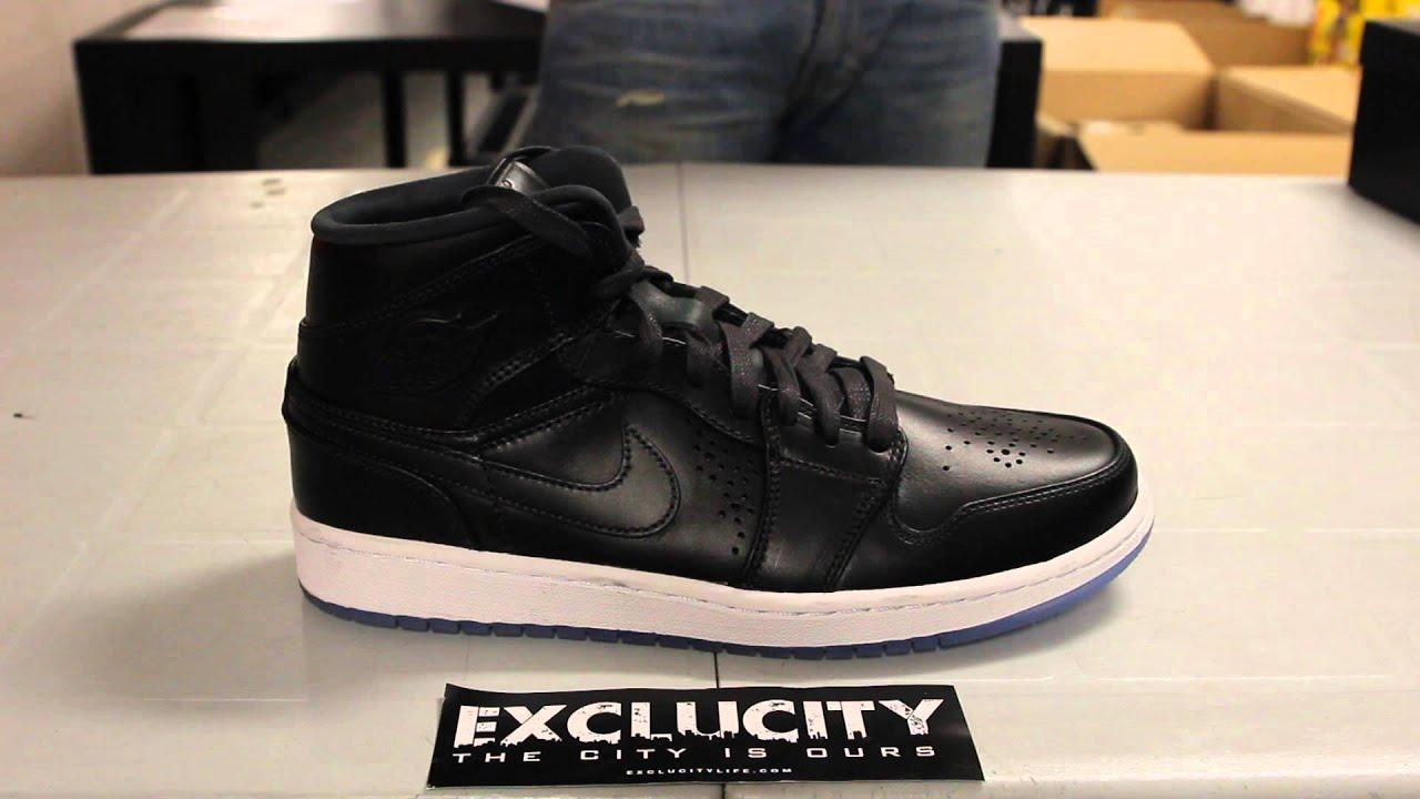 vente boutique pour Air Jordan 1 Mi Nouveau Glace Gris Anthracite Noir vente eastbay 8GuUK
