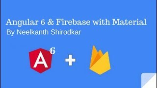 Angular6 and firebase with Material Design Table