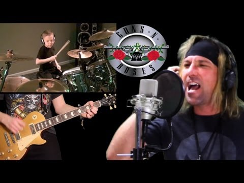 'Sweet Child O Mine' by Guns N Roses – Cover with Vocals – Performed by Karl, Tony Noyes & Avery