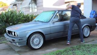 BMW e30 convertible project - Part 3