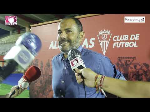 Salva Ballesta analiza la abultada derrota del Algeciras CF