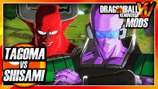 Dragon Ball Xenoverse PC: Tagoma Vs Shisami (Resurrection F) Mod Gameplay