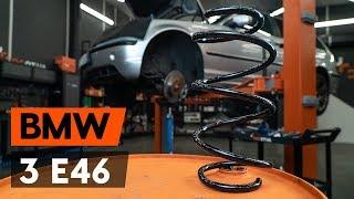 Kuinka vaihtaa etujousi BMW 3 (E46) -merkkiseen autoon [OHJEVIDEO AUTODOC]