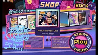 We Are Number One but it's in RoBeats and recorded by Roblox screen recorder...