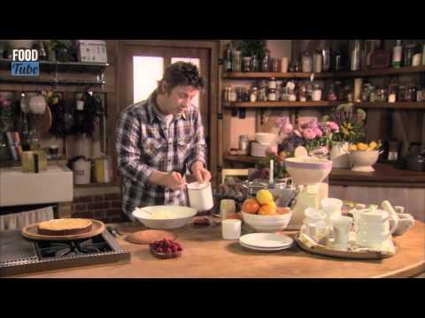 YUMMY Super Simple Sponge Cake   Jamie Oliver