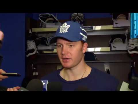 Maple Leafs Post-Game: Frederik Andersen - October 9, 2017