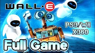 Wall-E Walkthrough FULL GAME Longplay (PS3, X360, Wii)