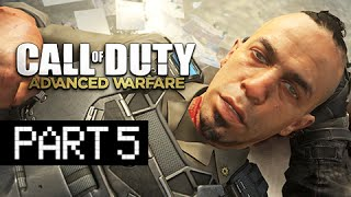 Call of Duty: Advanced Warfare Walkthrough Part 5 - Irons Knows (PS4 Gameplay Commentary)