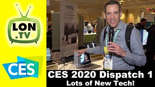CES 2020 Dispatch 1 - New Stuff from HP, Dell, and many more! Even Toilets and Telescopes!