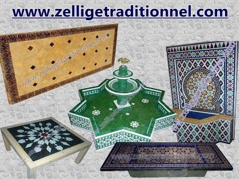 fournisseur de zellige marrakech youtube. Black Bedroom Furniture Sets. Home Design Ideas
