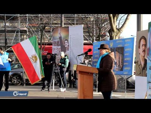 معارضون إيرانيون يتظاهرون في باريس تضامنا مع الاحتجاجات في بلادهم  - 16:59-2020 / 1 / 19