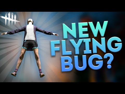 NEW FLYING BUG?! (Dead by Daylight Random Moments #49)