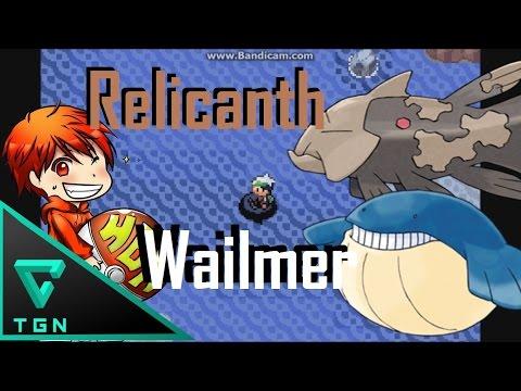 Pokemon Emerald : วิธีจับRelicanth และ Wailmer