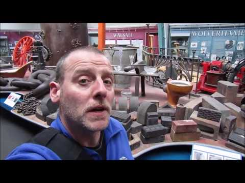 Black Country Living Museum with Andy outdoors