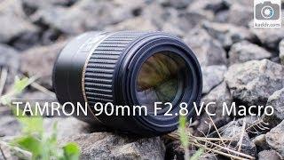 Tamron SP 90mm F/2.8 Di Macro VC USD - Обзор Макро-Объектива