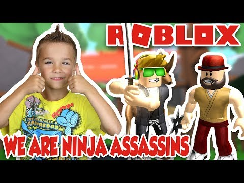 I AM NINJA ASSASSIN in ROBLOX | GETTING STRONGER AND FASTER!