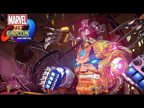 The Avengers and Capcom Heroes vs Ultron Omega - Marvel vs Capcom Infinite (2017) from YouTube · Duration:  16 minutes 28 seconds
