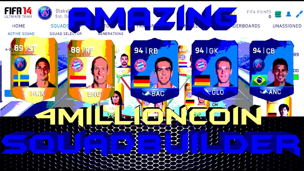 ultimate coins fifa 14