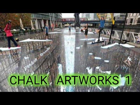 3D Street painting (street art)