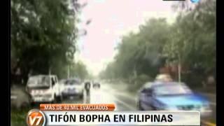 Visión 7: Tifón Bopha en Filipinas: más de 40 mil evacuados