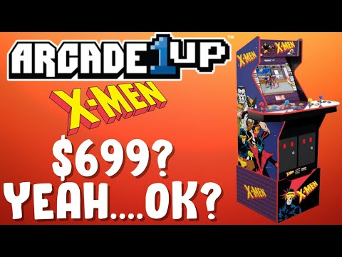 Arcade1Up X-Men Arcade Cabinet - $699 is just not for me... from PDubs Arcade Loft