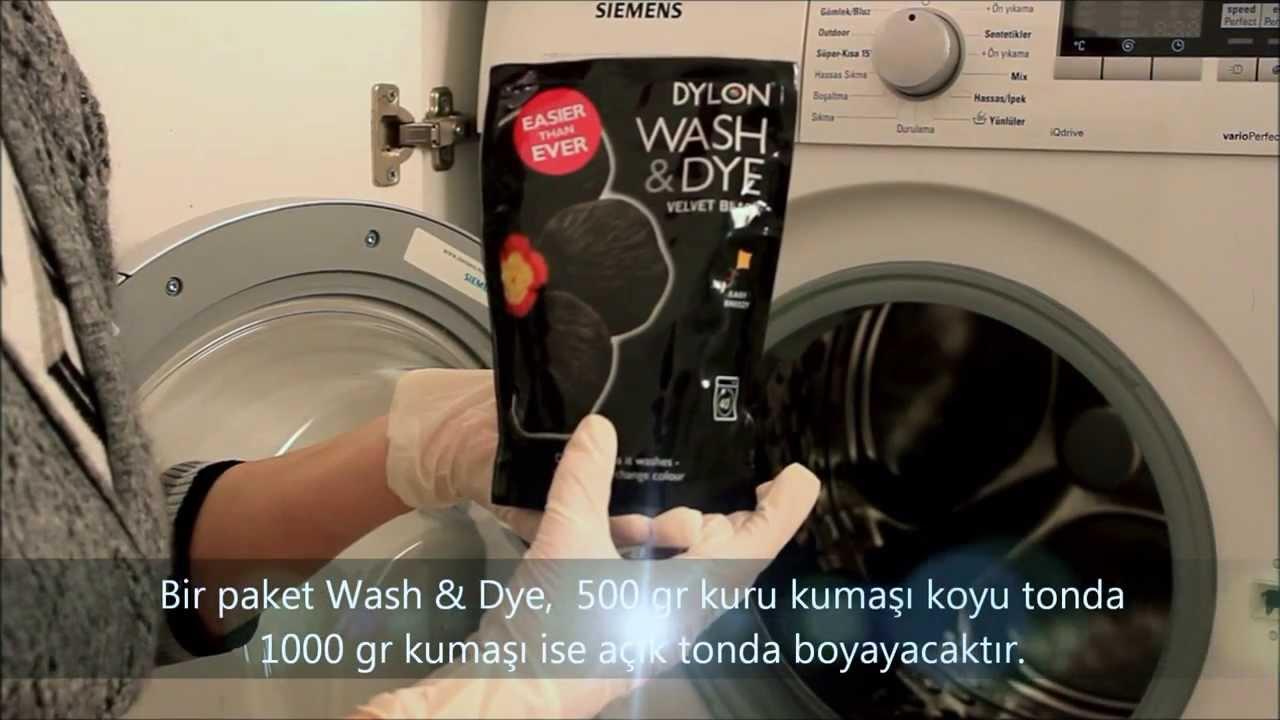 Dylon Giysi Ve Kumaş Boyası çamaşır Makinesinde Giysi Boyama Dylon