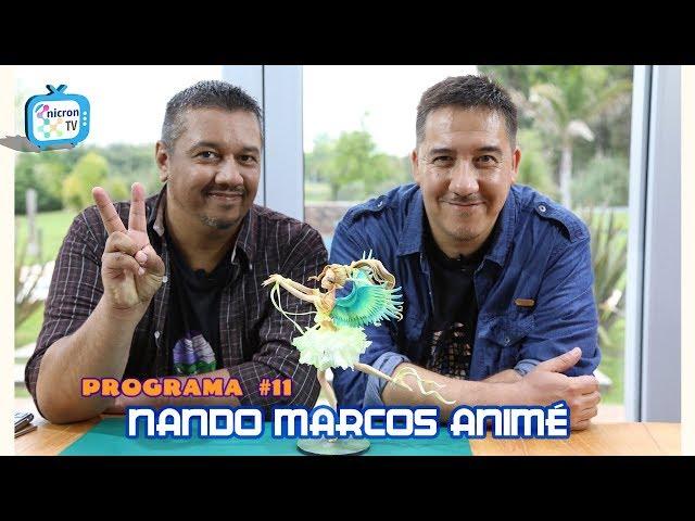 NICRON TV Como modelar Angel Ilusión por Nando Marcos Animé