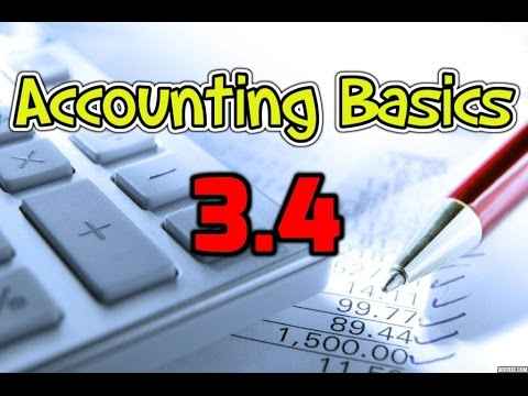 Accounting Basics 3.4: Accrued revenues