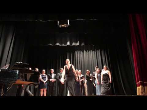 "Scuola Italia Summer Program for Young Opera Singers 2017: ""The Drinking Song"" La Traviata"