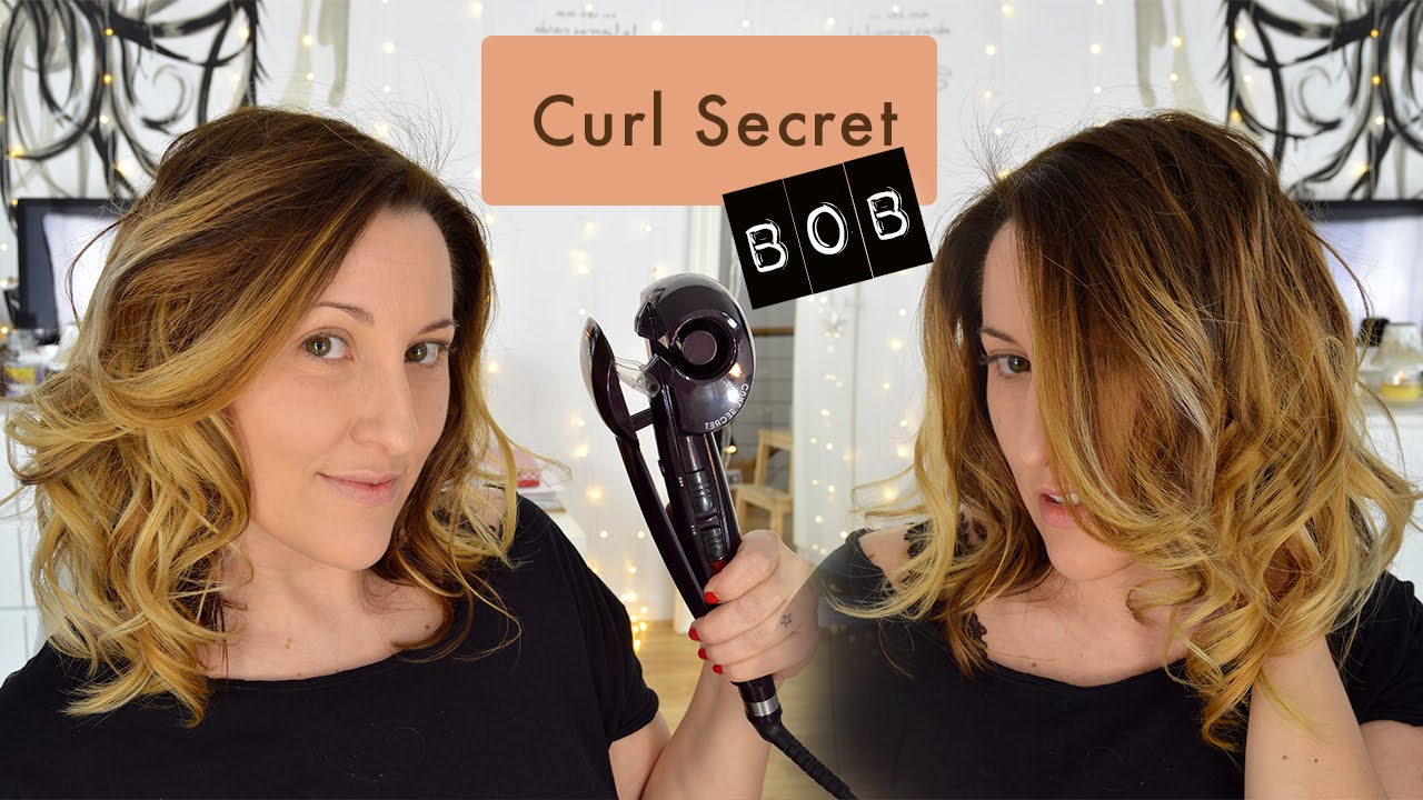 Peinado Con Miracurl En Corte Bob Youtube