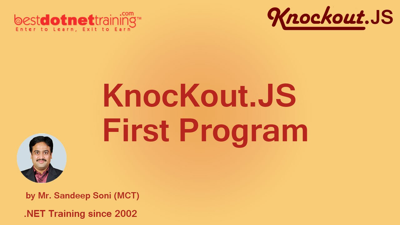 Text and appearance binding knockout. Js tutorial part 6 youtube.