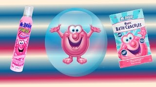 Mr Bubble Magic Bath Crackles & Mystery Foam