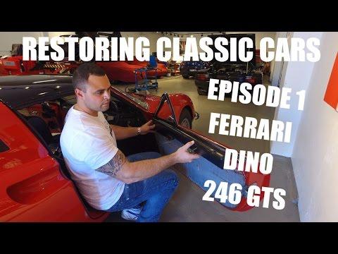 Restoring Classic Cars - Ferrari Dino 246 Episode 1