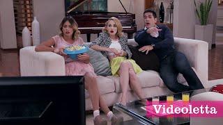 Violetta 3 English: Movie time (Popcorn fight) Ep.64