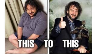 Peter Jackson Before Weight Loss