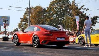 Porsche Drag Tournament (Кубок Порше), Dnepr, Ukraine