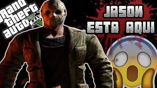 TODOS LOS JASON DE FRIDAY 13TH EN GTA V !! ME PERSIGUE POR LAS CALLES ( MOD ÉPICO )