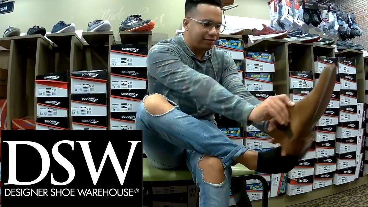 5898634644f DSW Store Review (men s shoes) - YouTube