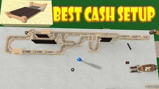 Roblox - Factory Town Tycoon: Best Cash Setup (Bed maker)